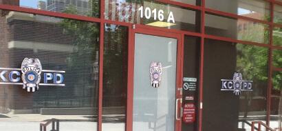 Branded Kansas City Window Film Decorative