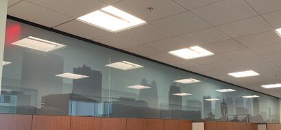 Kansas City Decorative Glass Window Film