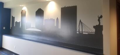 Kansas City Decorative Privacy Window Film