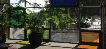 Kansas City Decorative Window Film Stained Glass